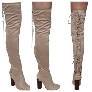Chase + Chloe over the knee boots